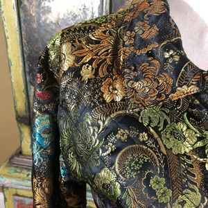 Chico's Jackets & Coats - Chico's Brocade Tapestry Zip Jacket Size 3 / XL 16